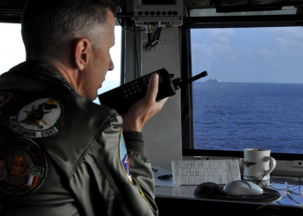 Sailor coordinates with Coast Guard to assist Carnival cruise ship
