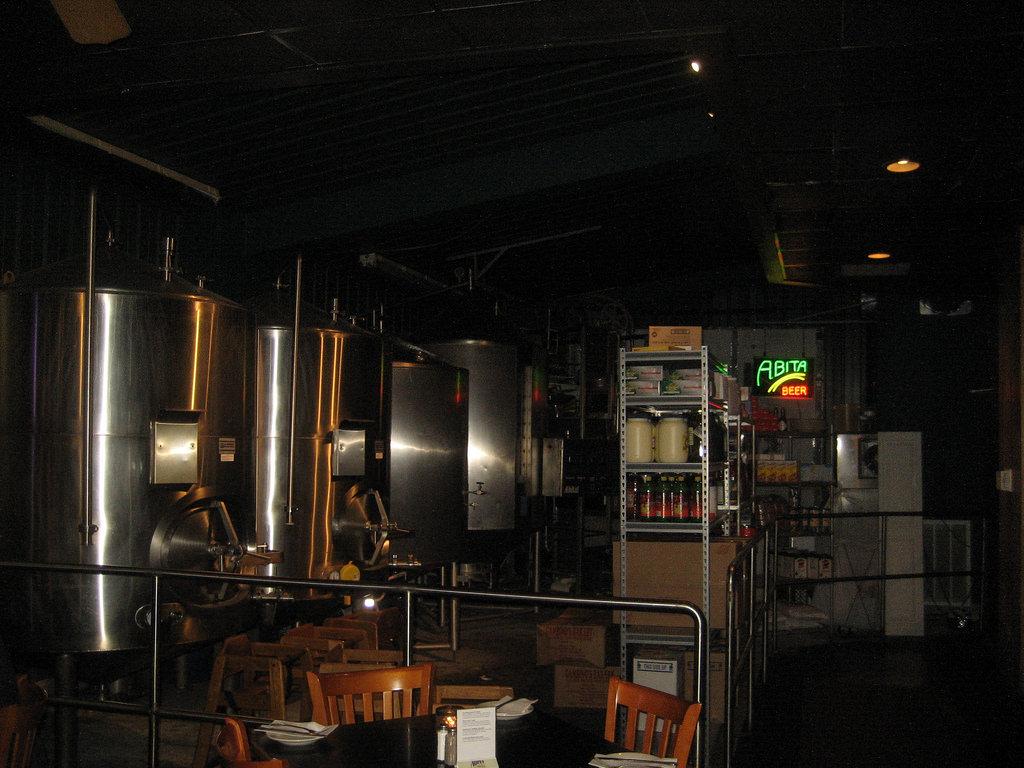 Abita Brew Pub Tanks