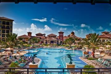 Sandal Beaches Turks and Caicos Italian Village Pool
