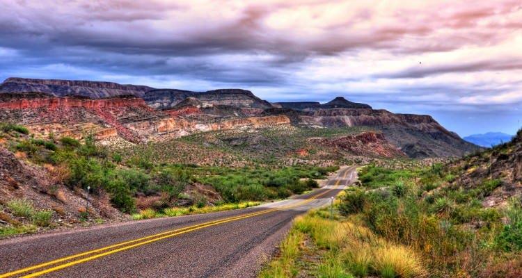 Approaching Big Bend National Park, Along FM 170