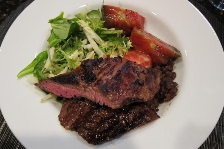 organic steak